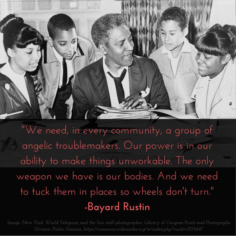 Bayard Rustin on resistance