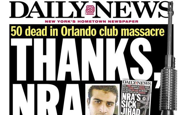 Orlando Massacre: Thanks, NRA