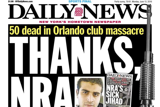 Orlando Massacre: Thanks, NRA