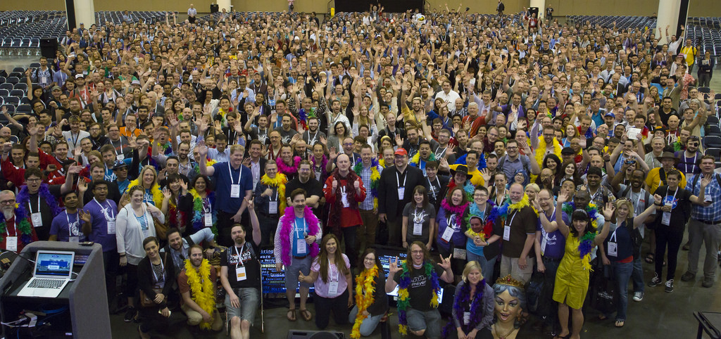 DrupalCon 2016 group photo - I'm in there somewhere