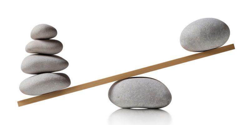 unbalanced rocks