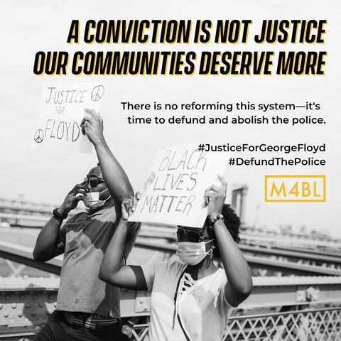 A conviction is not justice